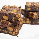 Milk Caramel Chunks Brownie