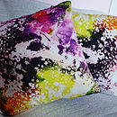 Splash Silk/Cotton Cushion Cover