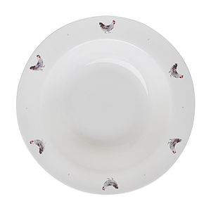 Chicken And Egg China Pasta Bowl - dining room