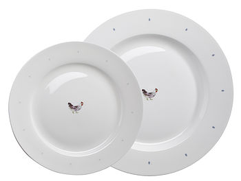 Solo Chicken And Egg China Plate
