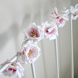 Rose Light Garland - children's lighting