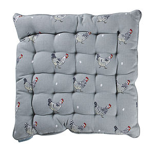 Chicken Chair Pad Cushion - garden furniture