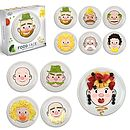 Thumb mr mrs food face kids plate