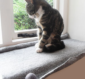 Cat Mat Bed For Windowsill - cats
