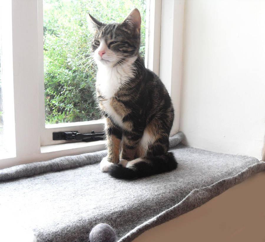 Cat Mat Bed For Windowsill By Lovecatcaves