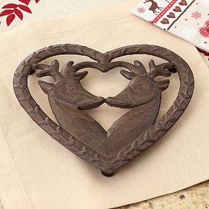 Cast Iron Deer Trivet - kitchen accessories