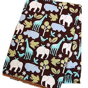 Baby Blanket 'Safari' - baby care