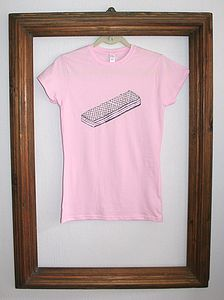 'Pink Wafer' Ladies T Shirt - tops & t-shirts