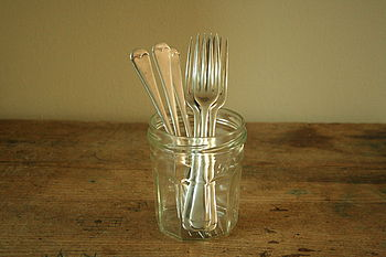 Set Of Six Vintage Forks