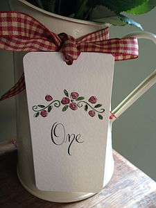 Wedding Table Number Or Name Card - place cards