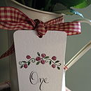 Wedding Table Number Or Name Card