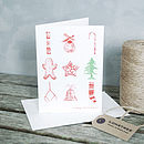 Stamp Christmas Card