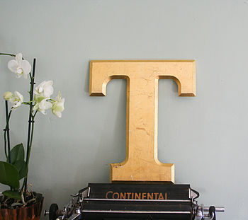 Genuine Vintage Shop Letters 'T'
