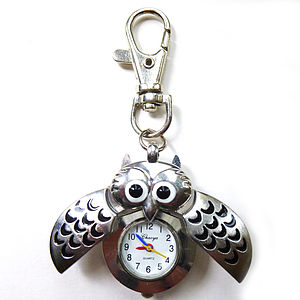 Owl Watch Keyring - watches