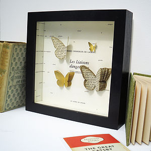 Bespoke Butterfly Collection Artwork - personalised