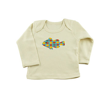 Fish Organic Cotton L/S Top