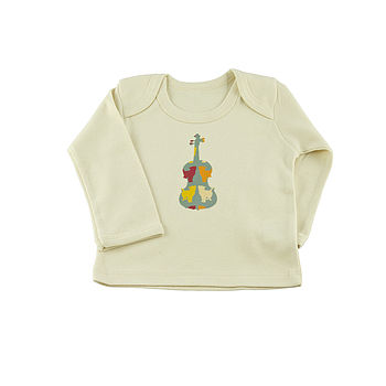 Cat And Fiddle Organic Cotton L/S Top