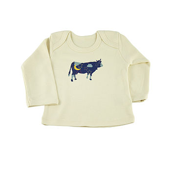 Cow Jumped Over The Moon Organic L/S Top