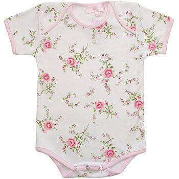Love Rose Cotton Bodysuit