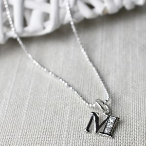 Your Initial As A Charm Necklace - necklaces & pendants