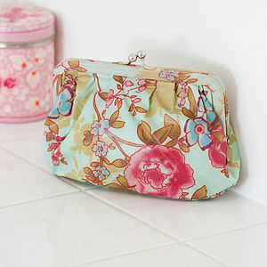 Clip Purse Floral And Spring Prints