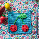 Crochet A Retro Pot Holder Kit