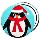 Christmas Stocking Filler 'Penguin' Mirror