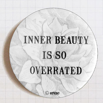 'Inner Beauty' Pocket Mirror