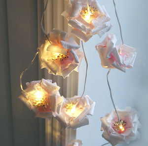 Rose Light Garland - room decorations