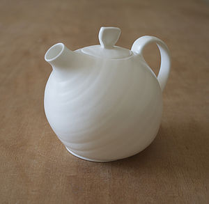 Bone China Organic Teapot