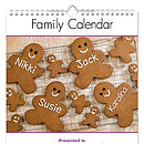 Family Personalised Calendar