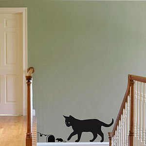Cat Wall Art Stickers - pet-lover