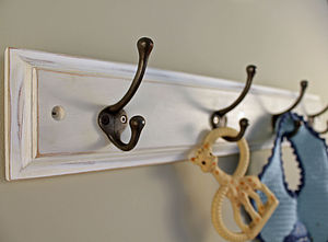 Wooden Baby And Toddler Coat Hook