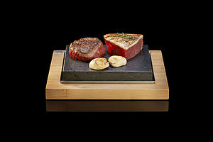The Steak Stones Sizzling Steak Plate - tableware