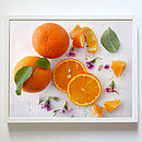 Oranges Kitchen Decor Print, Poster Or Canvas