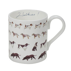 Walkies! China Mug - mugs