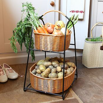 Two Tier Vegetable Rack