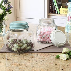 Heart Storage Jar With Lid - kitchen accessories