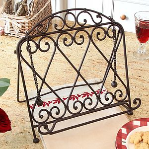 Amore Iron Cookbook Stand - summer sale