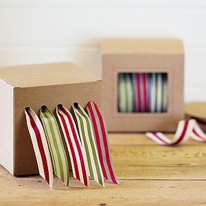 50 Metres Of Ribbon And Dispenser Set - cards & wrap