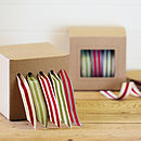 Stripe Ribbon and Dispenser Set