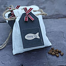 Delicious Cat Treats In Gift Bag