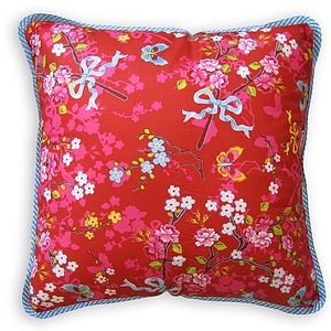 Chinese Rose Square Cushions By PiP Studio - cushions