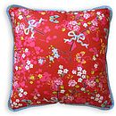 Chinese Rose Square Cushions By PiP Studio