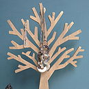 Wood Blossom Tree Jewellery Holder
