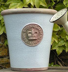 Kew Royal Botanical Garden Long Tom Plant Pot - gifts for grandparents