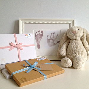 Magic Inkless Handprint Footprint Kit - nursery pictures & prints