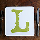 Coloured Alphabet Placemats