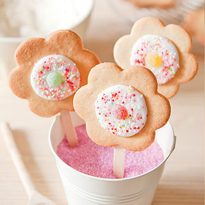 Flower Pop Cookie Kit - baking kits