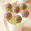 Rainbow Cake Pop Kit